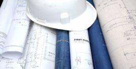 građevinski šlem i projekti